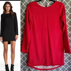 Naven Red Silk Twiggy Dress 6